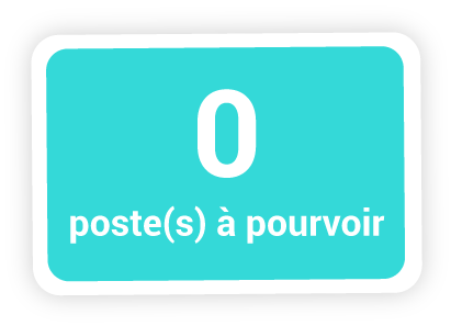 0 poste à pourvoir